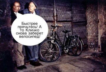 Кличко - велосипедист3