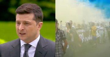 Масштабный бунт в центре Киева, тысячи людей двинулись к Офису Зеленского: кадры с места событий