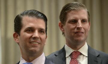 Сыновья Трампа Эрик и Дональд