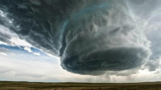 буря ураган апокалипсис небо