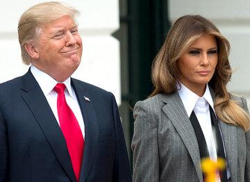Дональд Трамп, Мелания, жена