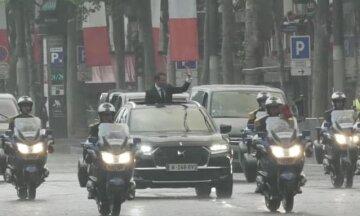 В Киеве заметили предположительный кортеж Президента Франции - СМИ