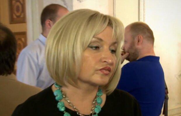 На лабутенах: Луценко красувалася в Раді в туфлях на 13 пенсій