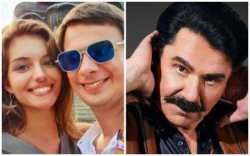 """Жена Комарова из """"Світ навиворіт"""" удивила дерзостью, подергав Зиброва за усы: """"Настоящие?"""", фото"""