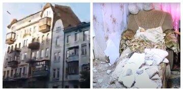 """Сосед делал ремонт: кусок потолка рухнул на голову пожилой украинки, """"не успела среагировать"""""""