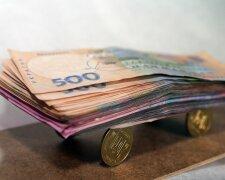 гривна, деньги, зарплата