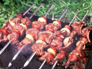 шашлык, мясо