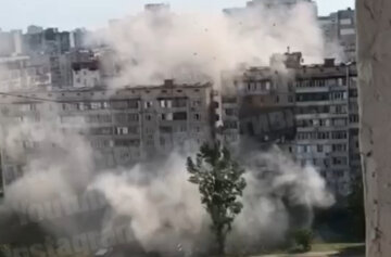 взрыв многоэтажки в Киеве