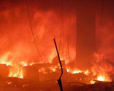 пожар огонь возгорание
