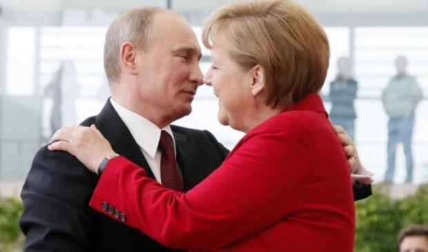 Путин 27 Меркель