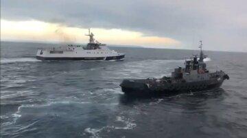 украинские корабли азовское море