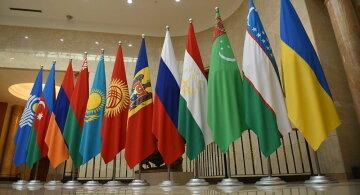 СНГ флаги постсоветские страны