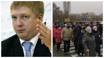 """Українці підняли бунт проти підвищення тарифів на 101%, перекривають траси: """"Коболєв жирує, а нас як липку обдирають!"""""""