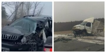 Машины разбросало по дороге как кегли: страшная авария всколыхнула Харьковщину, кадры