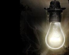 темнота свет электричество лампочка