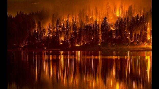 пожар сибирь