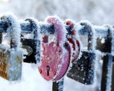 мороз, зима