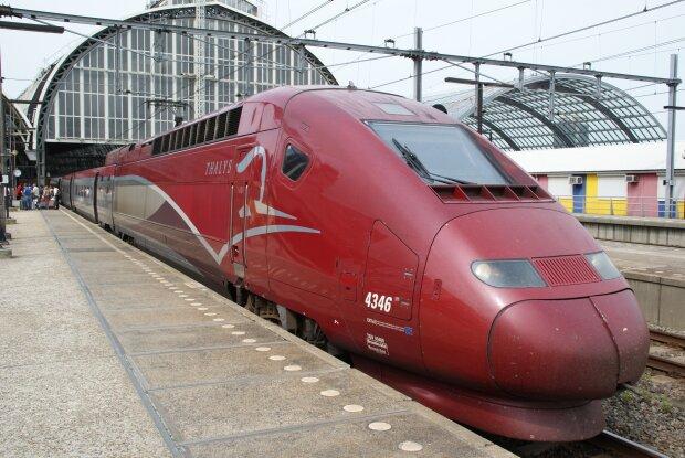 скоростной поезд Thalys