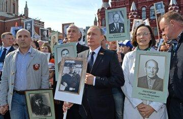 Бессмертный полк, Владимир Путин