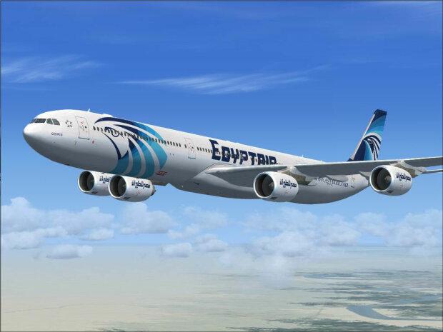 EgyptAir самолет
