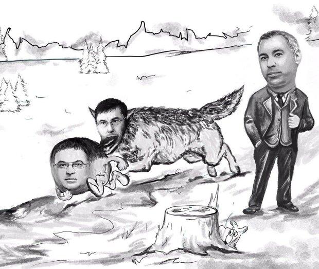 Как Луценко и Рябошапка Колобка делили
