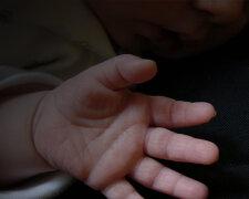 ребенок, рука