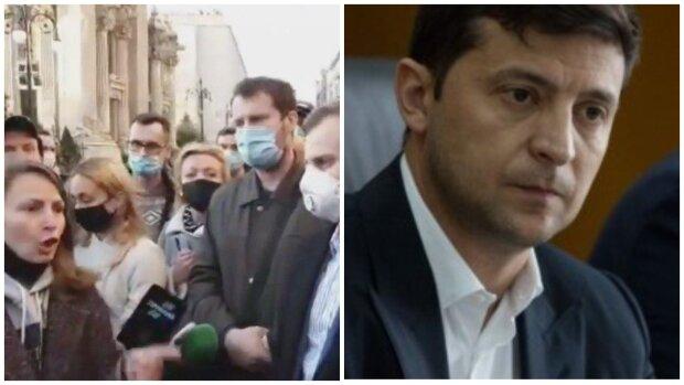 """Українці штурмують Офіс Зеленського, кадри з місця і скандальні подробиці: """"Ще три місяці..."""""""