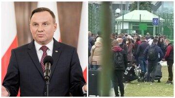 """Переизбранный президент Дуда высказался об источниках вируса в Польше: """"Много людей из Украины"""""""