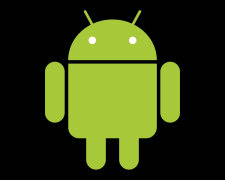 google-android-logo-green-black