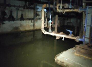 """""""Вода стікає з усього будинку"""": у Харкові """"тоне"""" багатоповерхівка, комунальники не бачать проблему, фото"""