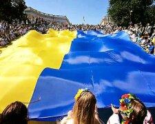 флаг Украины объединение украины