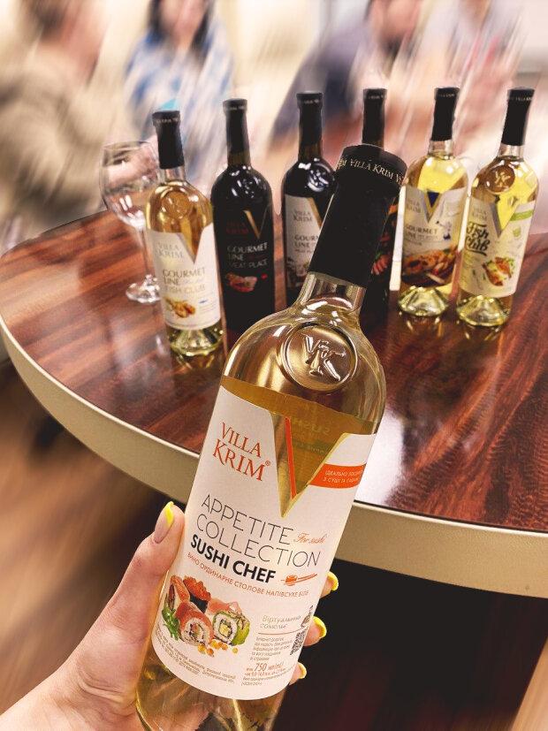 У мережу потрапили концепти нової лінійки вин Villa Krim