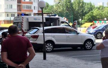 Мужчина упал с 11 этажа в центре Харькова: подробности трагедии и фото с места