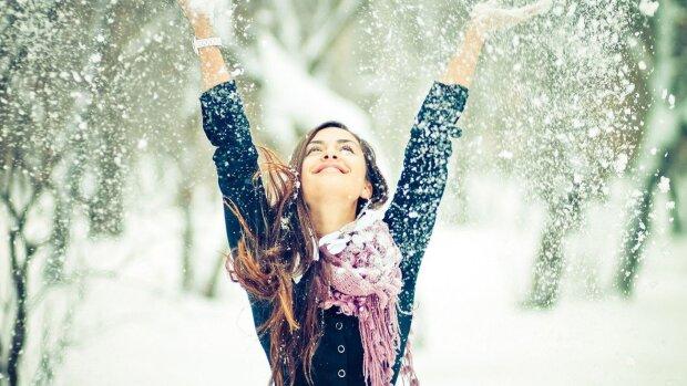 радость, зима, счастье