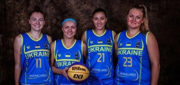 сборная Украины баскетбол 3х3