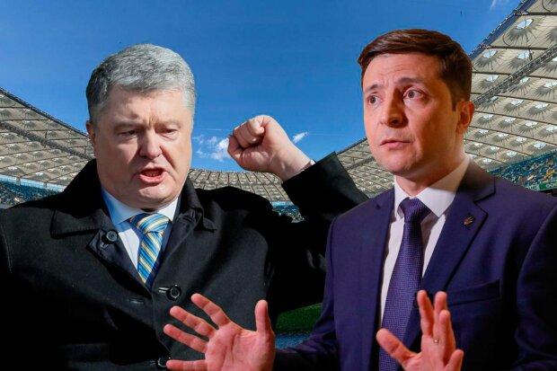 дебаты порошенко зеленский