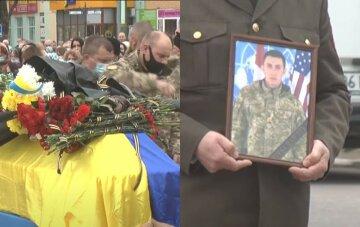 """""""Неделю не дослужив до возвращения"""": молодого бойца ВСУ не стало на Донбассе, кадры прощаний"""