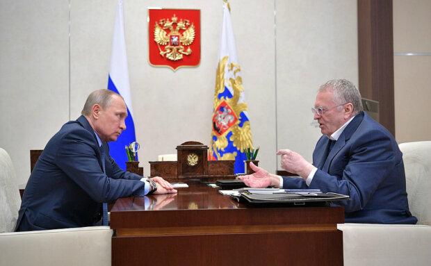 Путін публічно принизив Жириновського, з'явилося відео: «Клоун зі стажем»