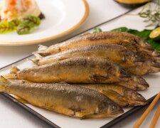 жареная рыба, блюдо