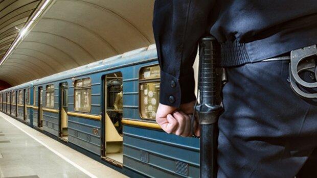 метро, полиция