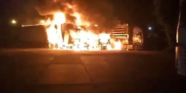 2019-07-09 11_39_07-Сразу три грузовика сгорели ночью под Черноморском (фото, видео) » Все новости О