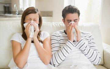 Первые симптомы гриппа