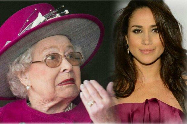 королева елизавета, меган маркл