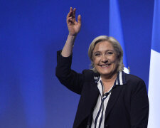 Presidential Candidate Marine Le Pen Holds A Rally Meeting In Nice