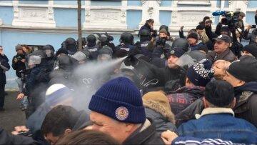 беспорядки киев полиция