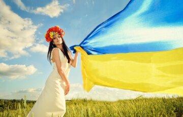 украинка в венке