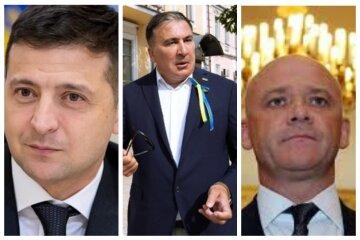 На выборах мэра Одессы зарегистрировали Саакашвили и Зеленского: кто еще будет бороться с Трухановым