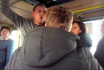 Во Львове водитель маршрутки на камеру атаковал подростка: Психически больной