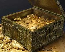 клад с монетами