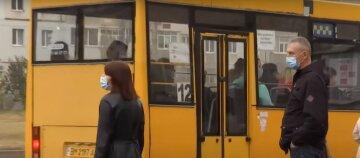 карантин маски украинцы люди маршрутка